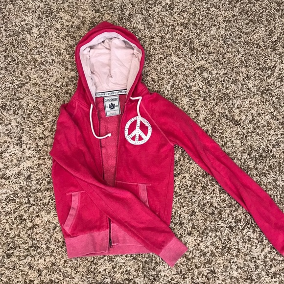 PINK Victoria's Secret Jackets & Blazers - VS Pink zip up hoodie
